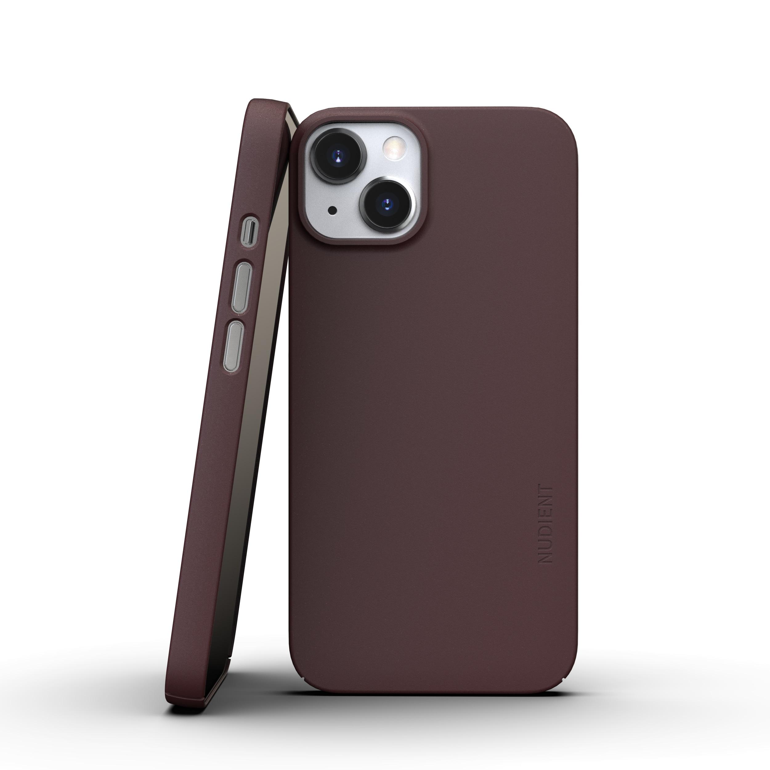 Thin Case V3 iPhone 13 Mini Sangria Red