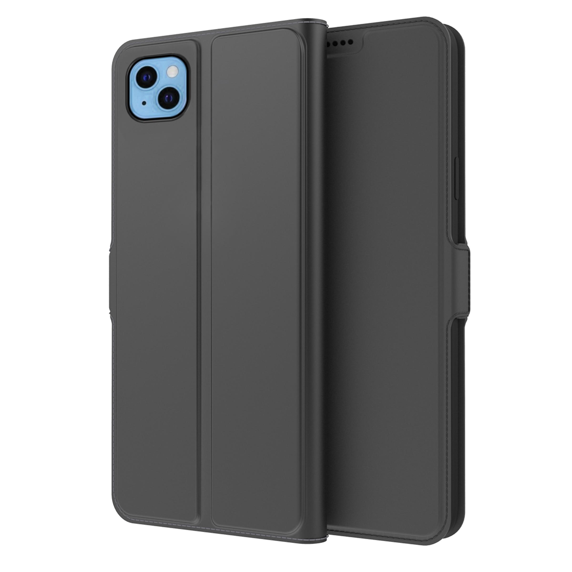 Slim Card Wallet iPhone 13 musta