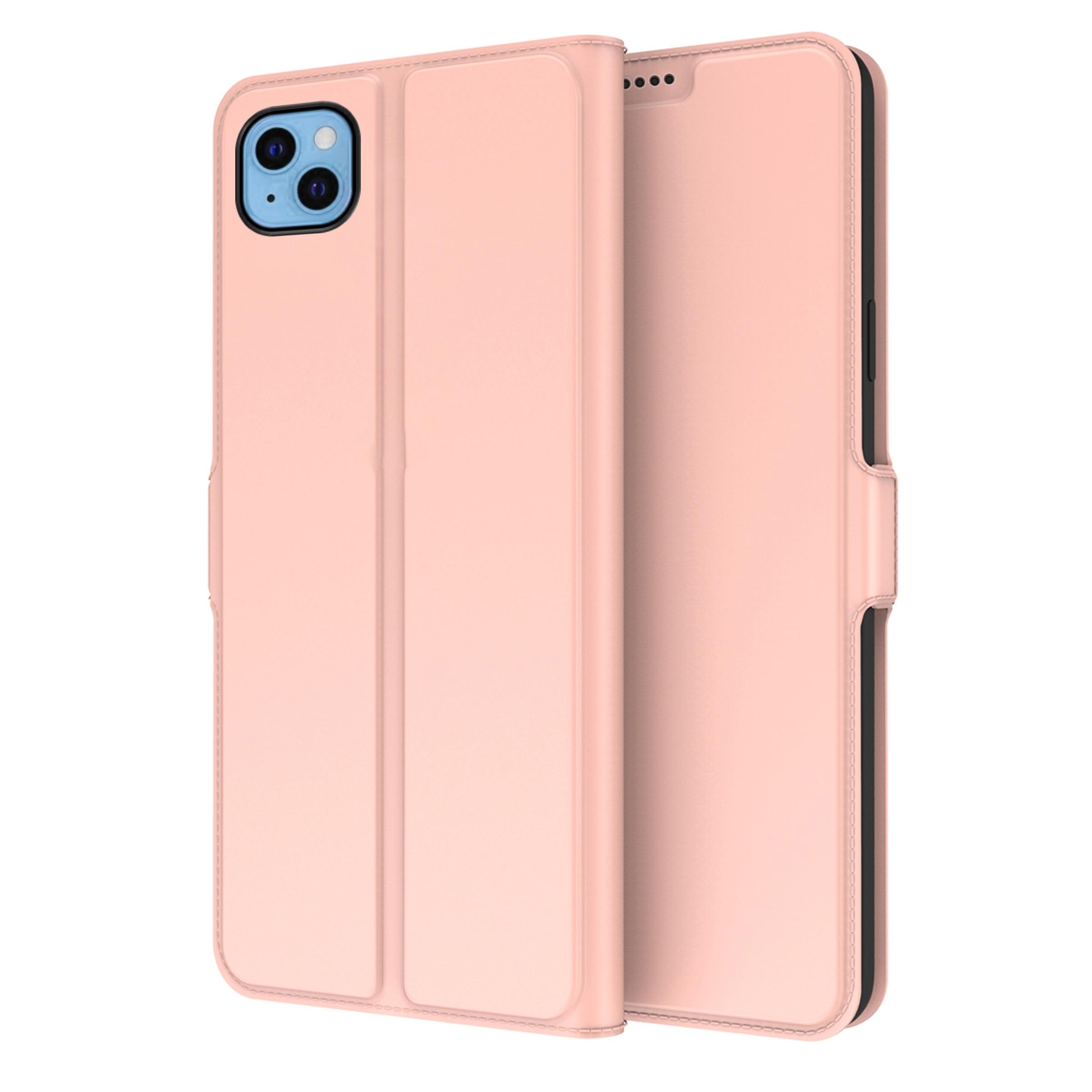 Slim Card Wallet iPhone 13 ruusukulta