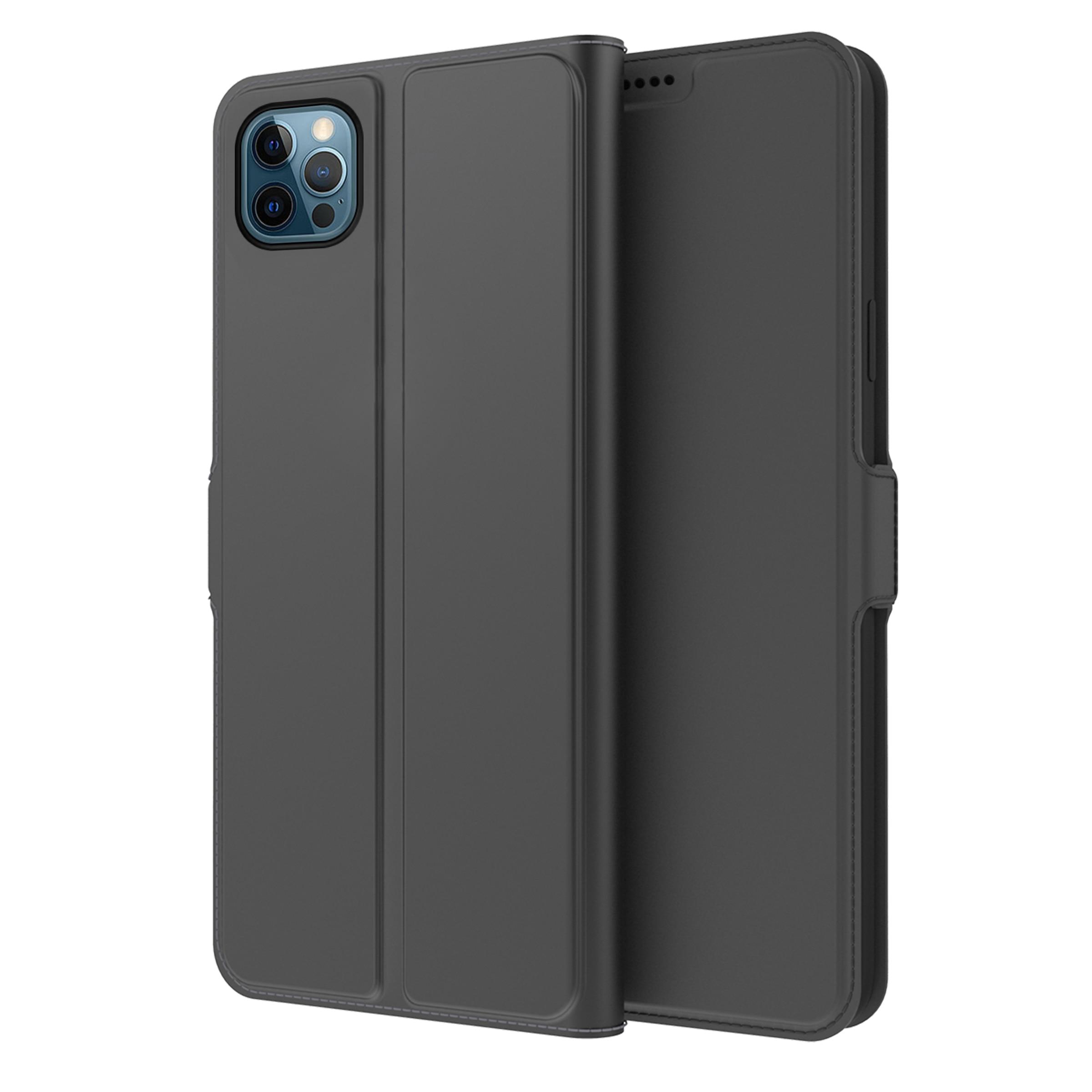 Slim Card Wallet iPhone 13 Pro Max musta