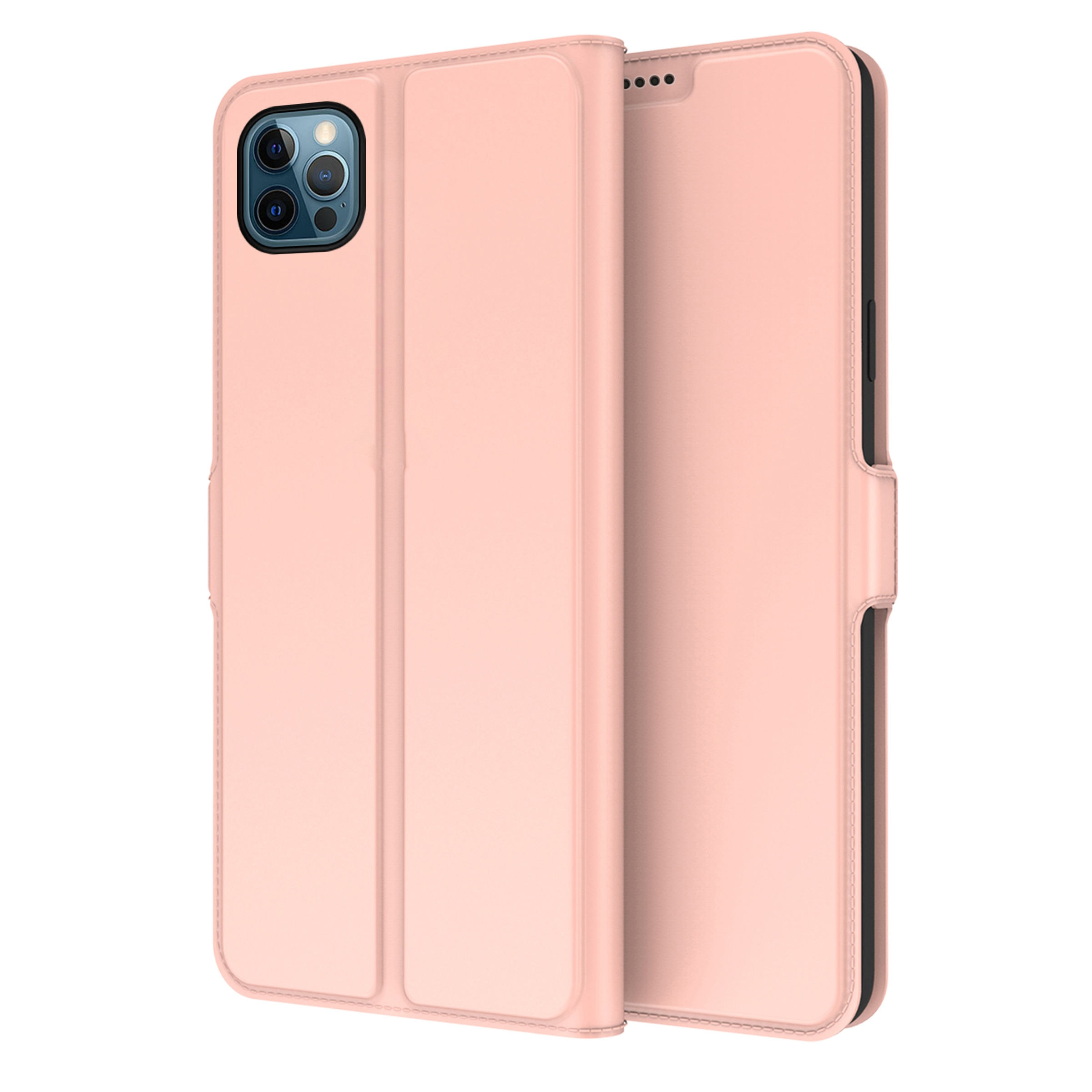 Slim Card Wallet iPhone 13 Pro Max ruusukulta