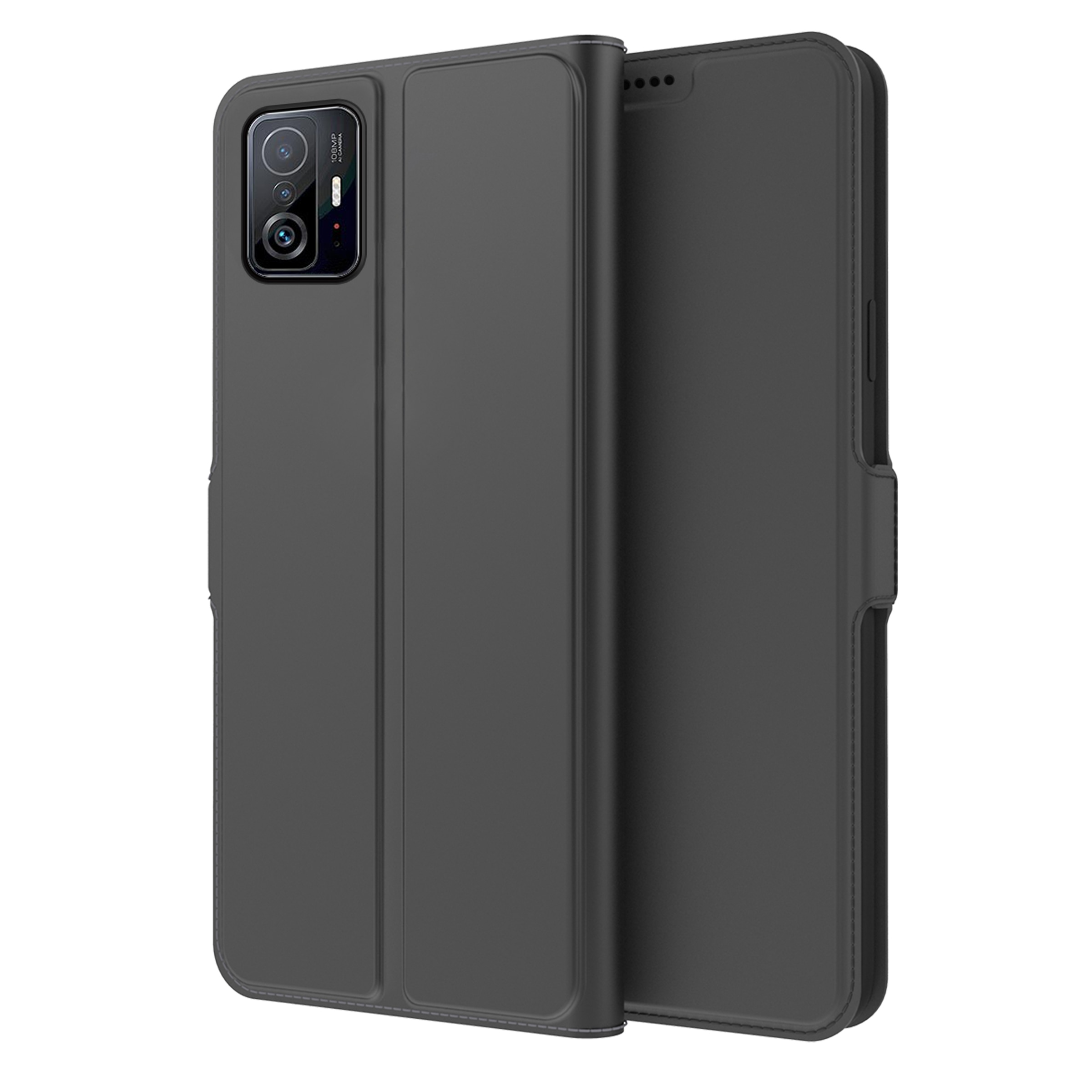 Slim Card Wallet Xiaomi 11T/11T Pro musta