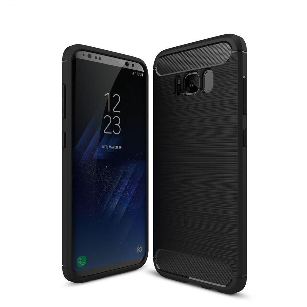 Brushed TPU Kuori for Samsung Galaxy S8 black