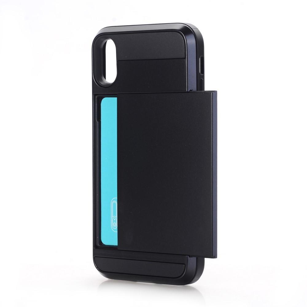 Case Cardslot iPhone X/XS musta