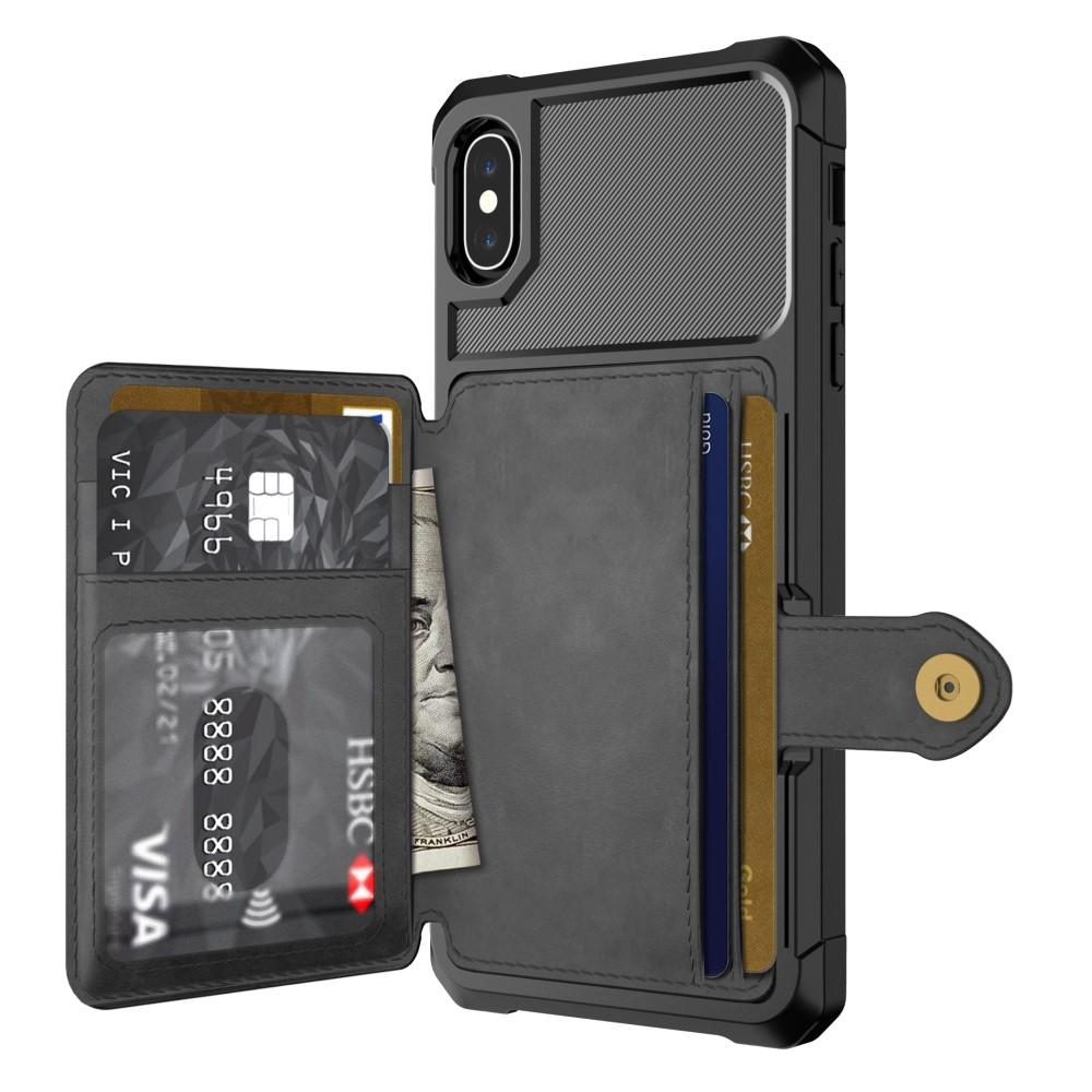 Tough Multi-slot Case iPhone X/XS musta