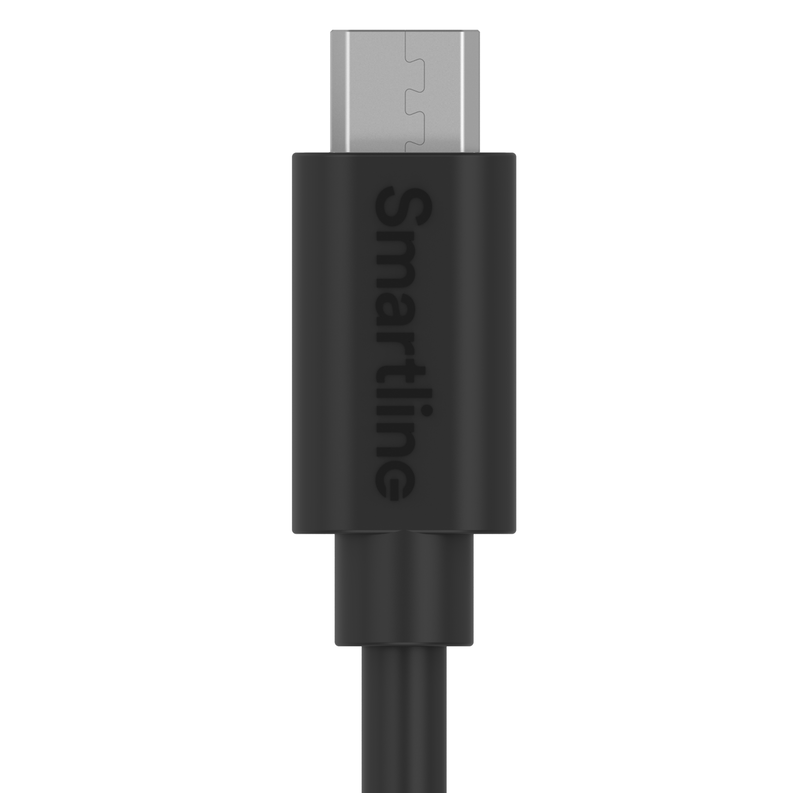 USB Cable MicroUSB 2m musta