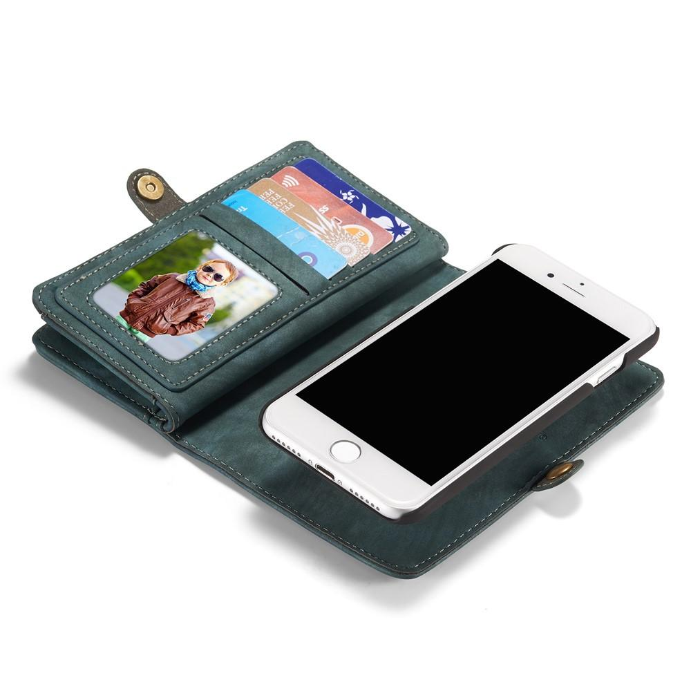Multi-slot Suojakotelo iPhone 7/8/SE 2020 sininen