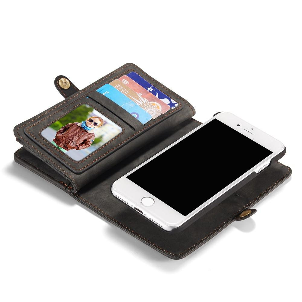Multi-slot Suojakotelo iPhone 7/8/SE 2020 harmaa