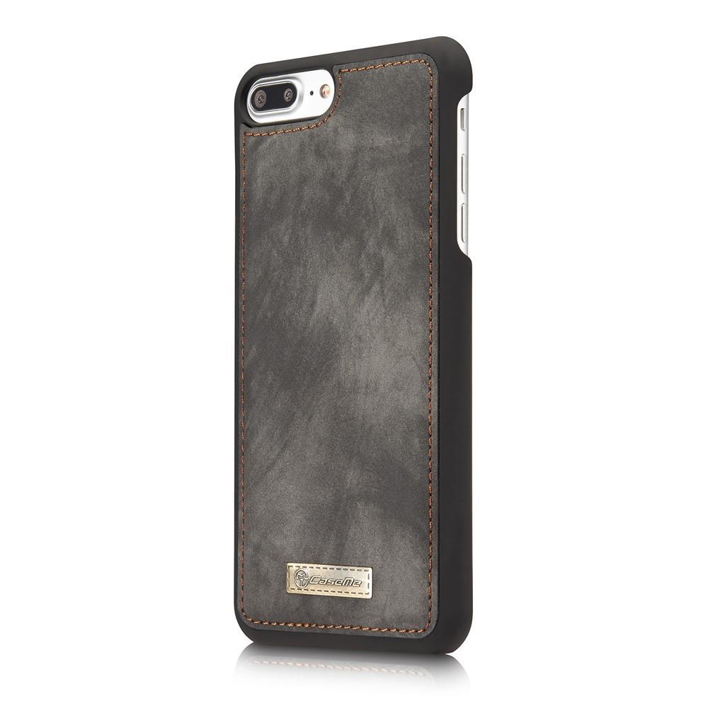 Multi-slot Suojakotelo iPhone 7 Plus/8 Plus harmaa