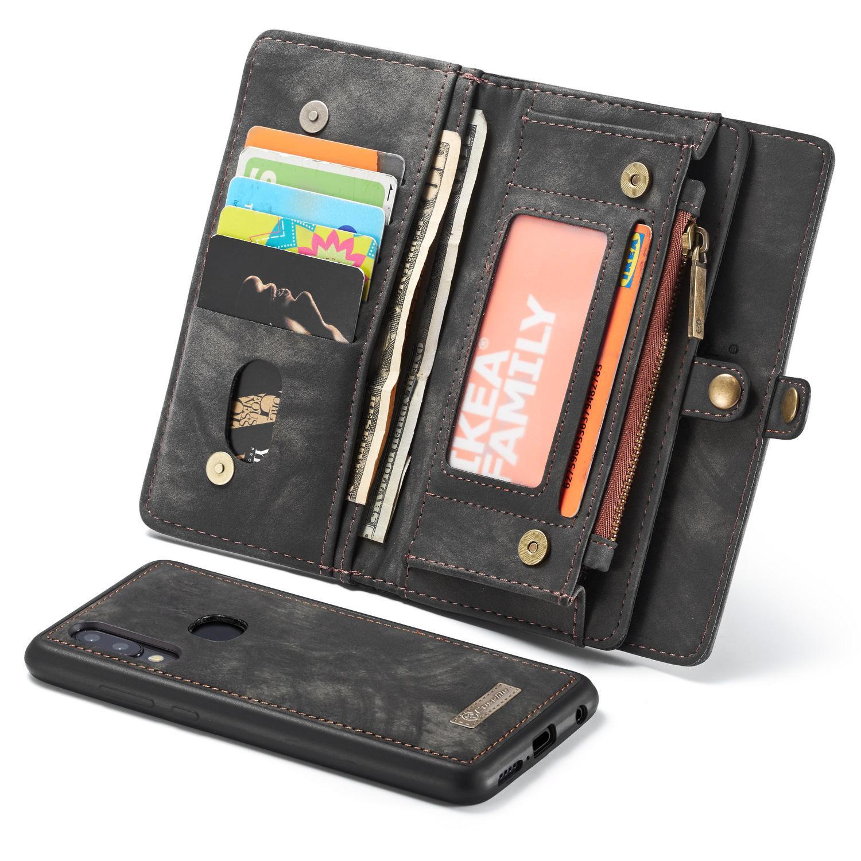 Multi-slot Suojakotelo Galaxy A40 harmaa