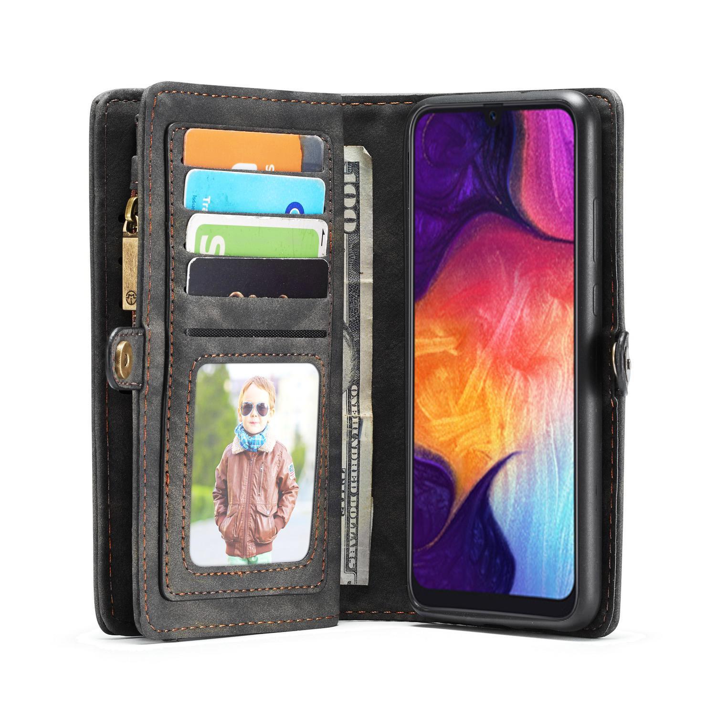 Multi-slot Suojakotelo Galaxy A50 harmaa