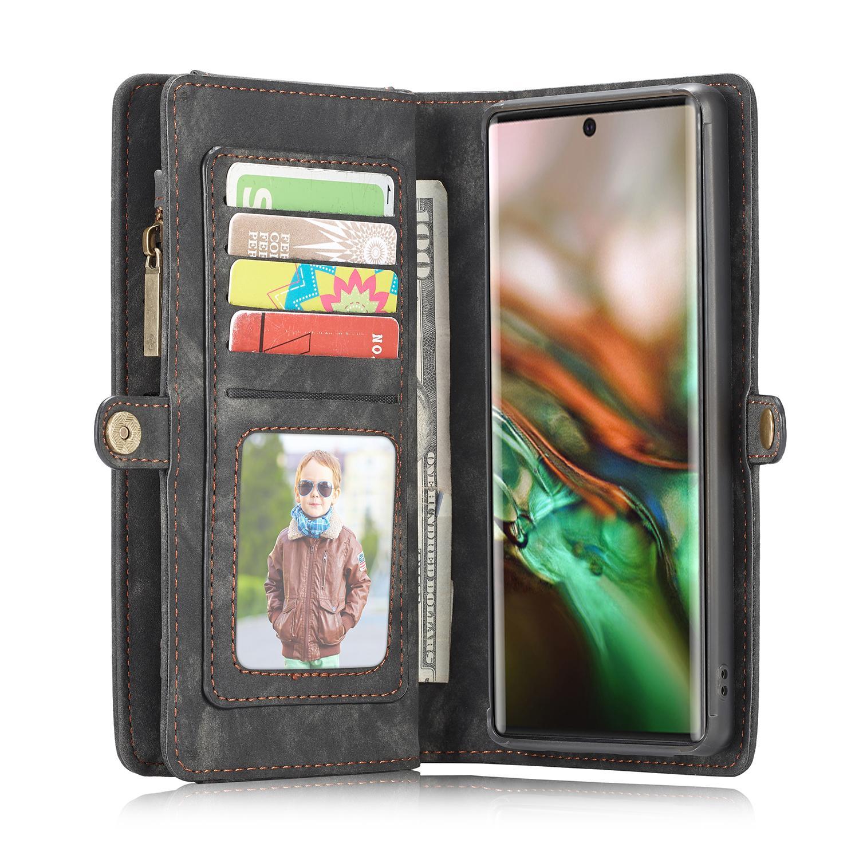 Multi-slot Suojakotelo Galaxy Note 10 Plus harmaa
