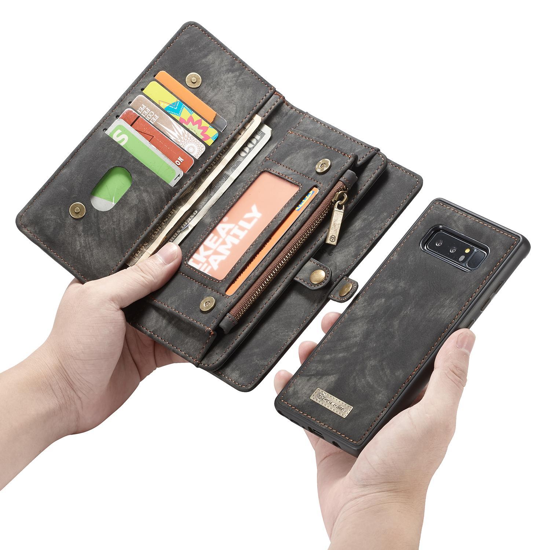 Multi-slot Suojakotelo Galaxy Note 8 harmaa