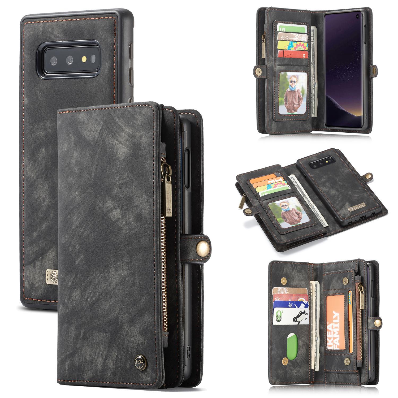 Multi-slot Suojakotelo Galaxy S10e harmaa