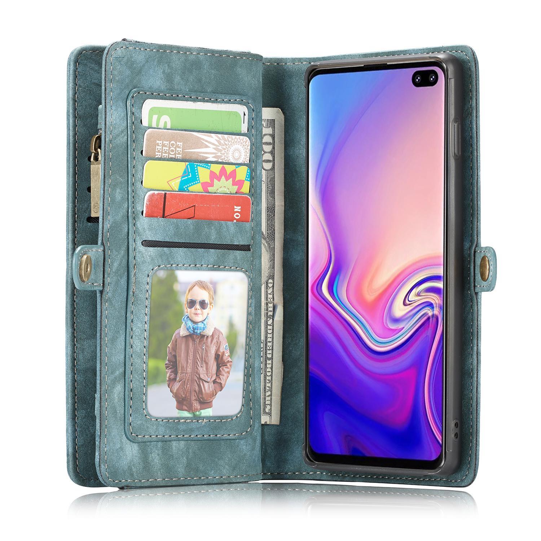 Multi-slot Suojakotelo Galaxy S10 Plus sininen