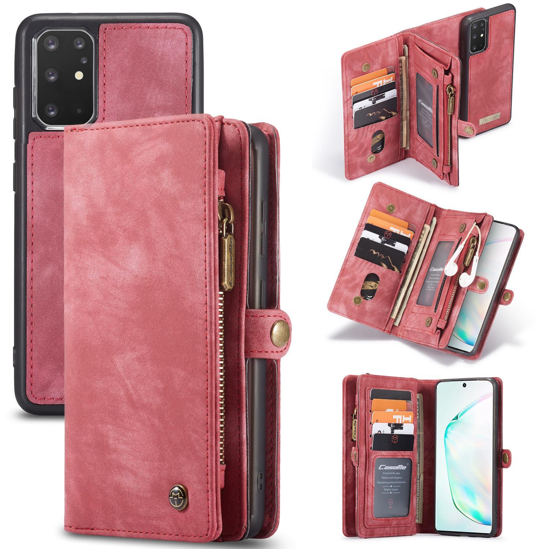 Multi-slot Suojakotelo Galaxy S20 Plus punainen