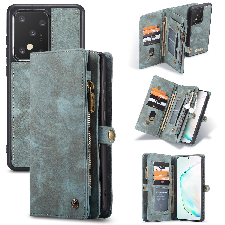 Multi-slot Suojakotelo Galaxy S20 Ultra sininen