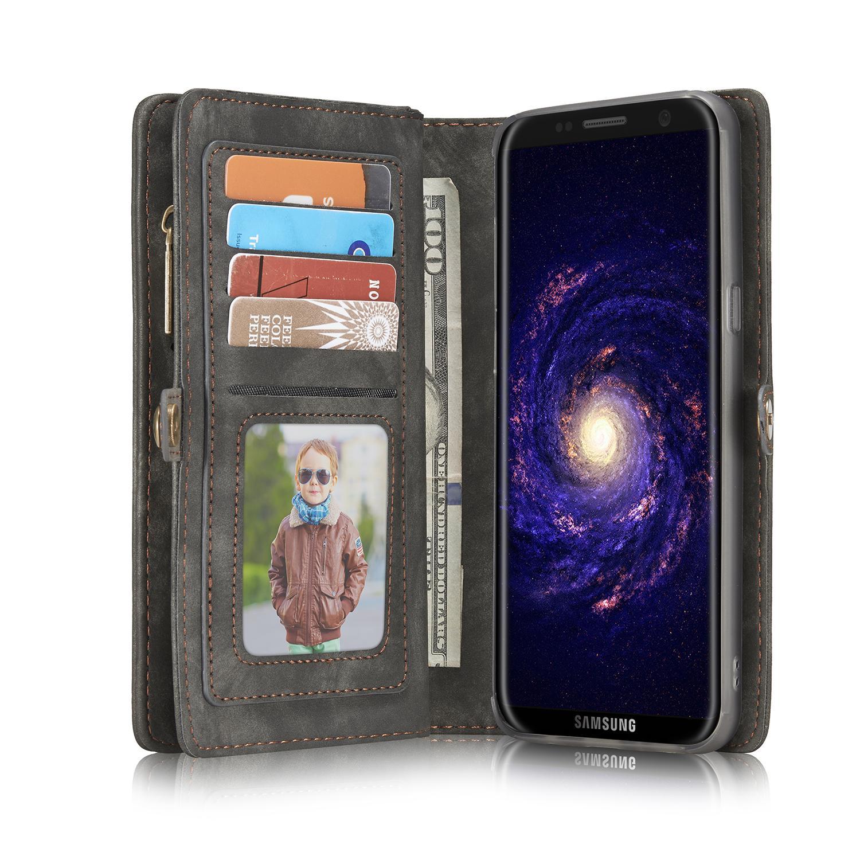 Multi-slot Suojakotelo Galaxy S8 Plus harmaa