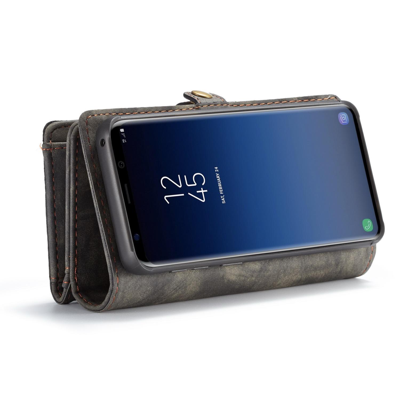 Multi-slot Suojakotelo Galaxy S9 Plus harmaa