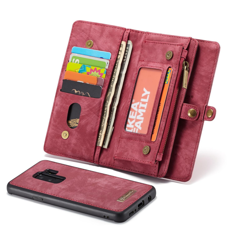 Multi-slot Suojakotelo Galaxy S9 Plus punainen