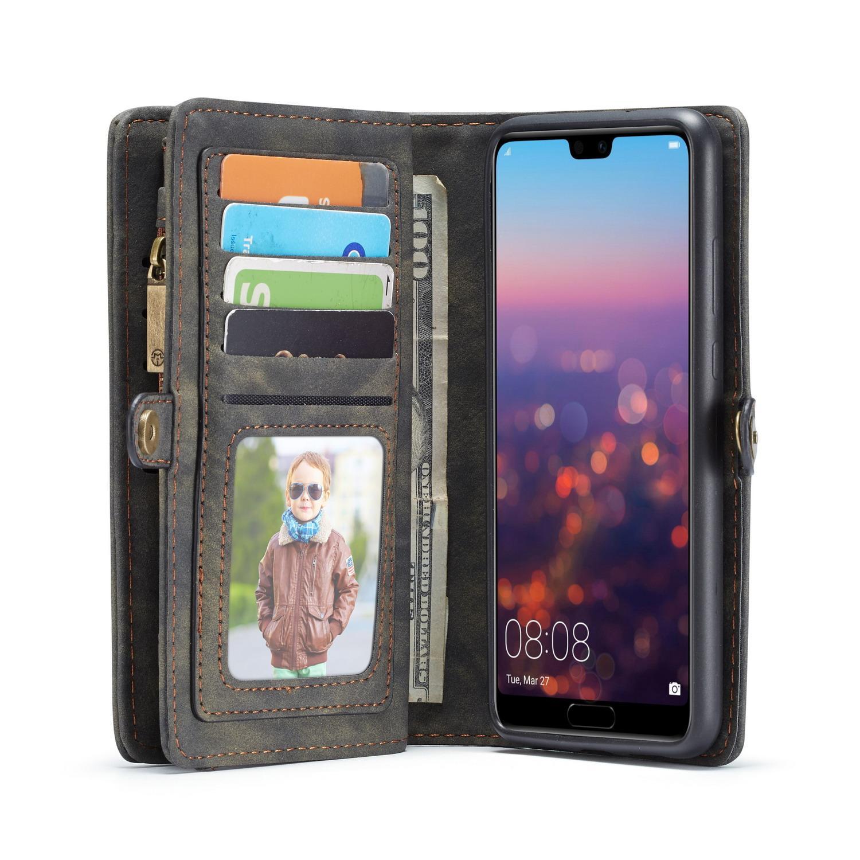 Multi-slot Suojakotelo Huawei P20 Lite harmaa