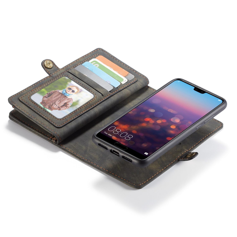 Multi-slot Suojakotelo Huawei P20 Pro harmaa