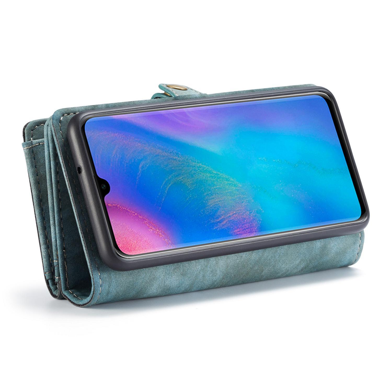 Multi-slot Suojakotelo Huawei P30 sininen