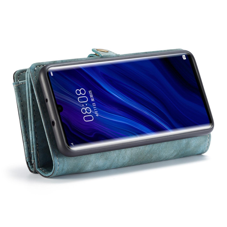 Multi-slot Suojakotelo Huawei P30 Pro sininen