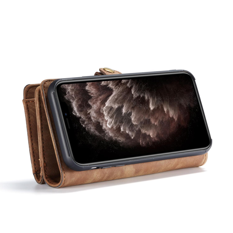Multi-slot Suojakotelo iPhone 11 ruskea