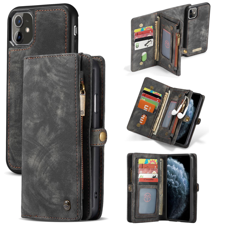 Multi-slot Suojakotelo iPhone 11 harmaa
