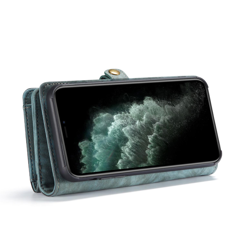 Multi-slot Suojakotelo iPhone 11 Pro sininen