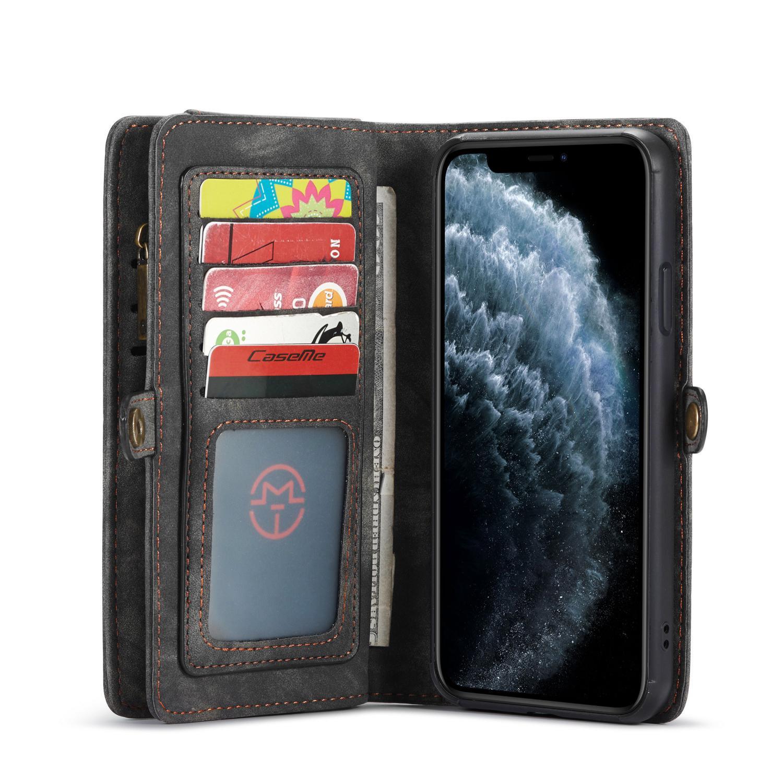 Multi-slot Suojakotelo iPhone 11 Pro harmaa