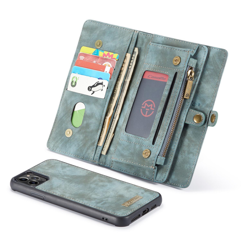 Multi-slot Suojakotelo iPhone 11 Pro Max sininen