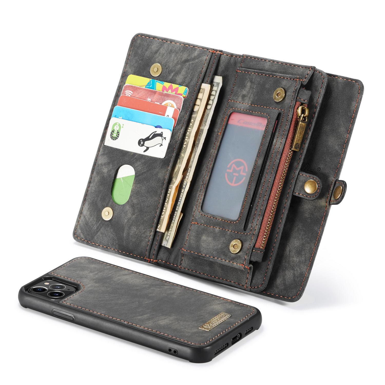 Multi-slot Suojakotelo iPhone 11 Pro Max harmaa