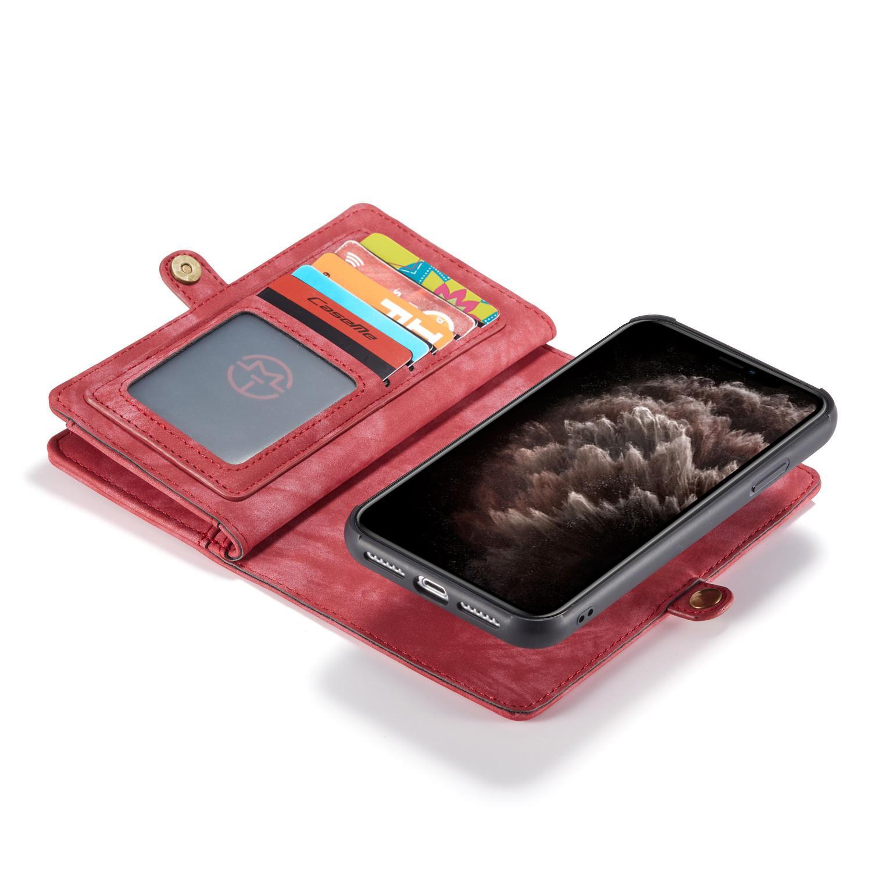 Multi-slot Suojakotelo iPhone 11 punainen