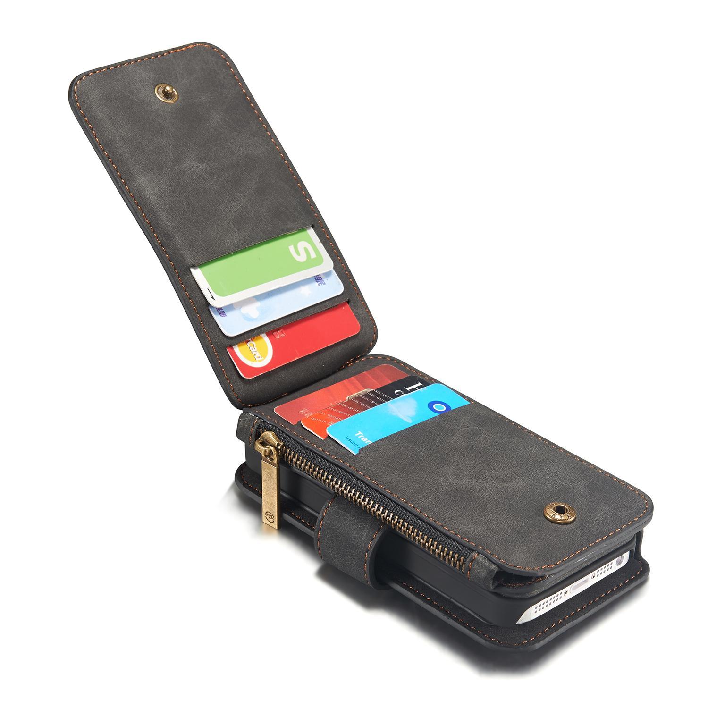 Multi-slot Suojakotelo iPhone 5/5S/SE harmaa