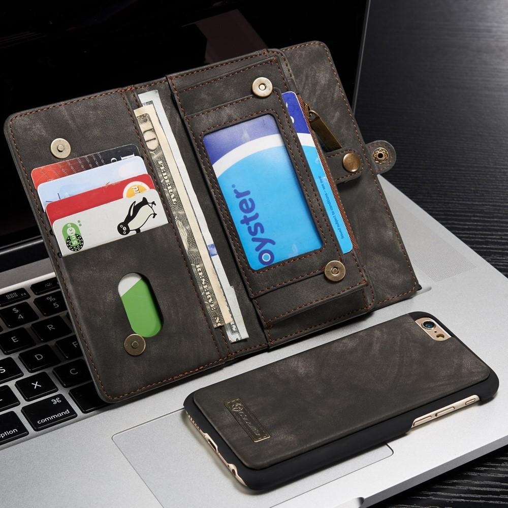 Multi-slot Suojakotelo iPhone 6/6S harmaa