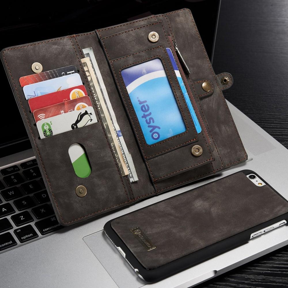 Multi-slot Suojakotelo iPhone 6 Plus/6S Plus harmaa