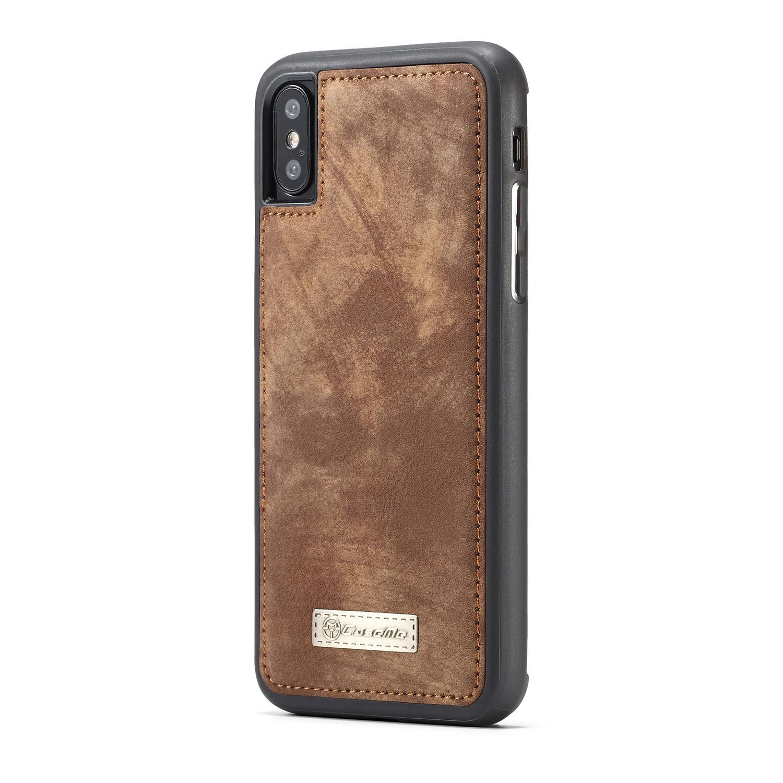 Multi-slot Suojakotelo iPhone X/XS ruskea