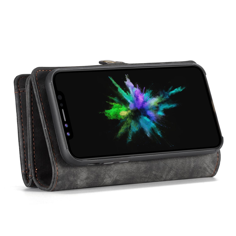 Multi-slot Suojakotelo iPhone X/XS harmaa