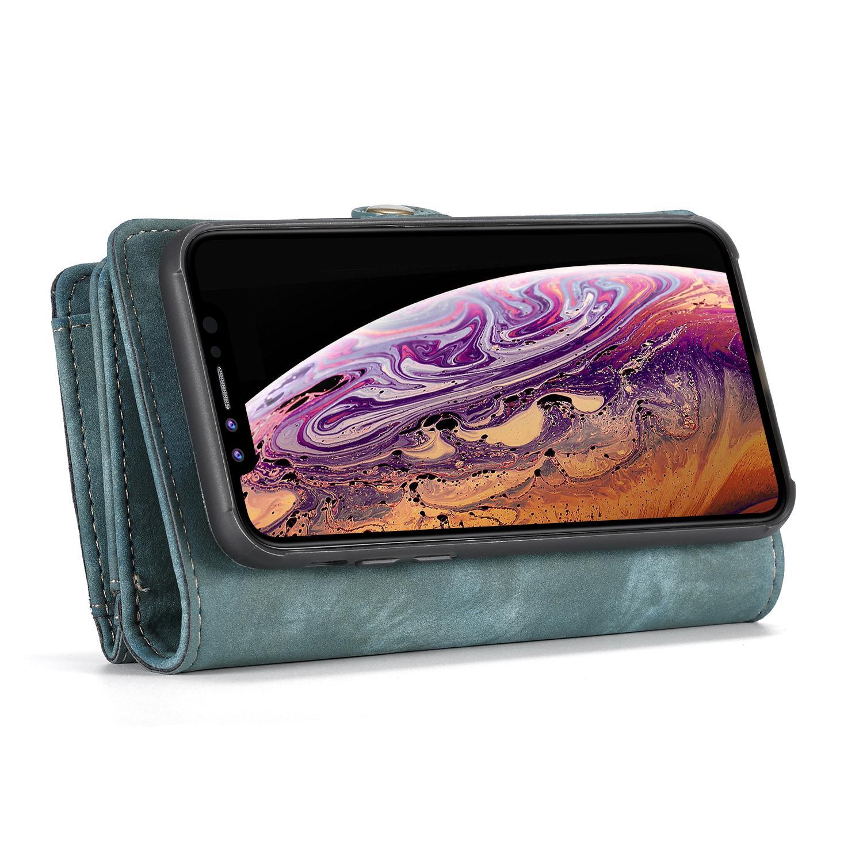 Multi-slot Suojakotelo iPhone XR sininen