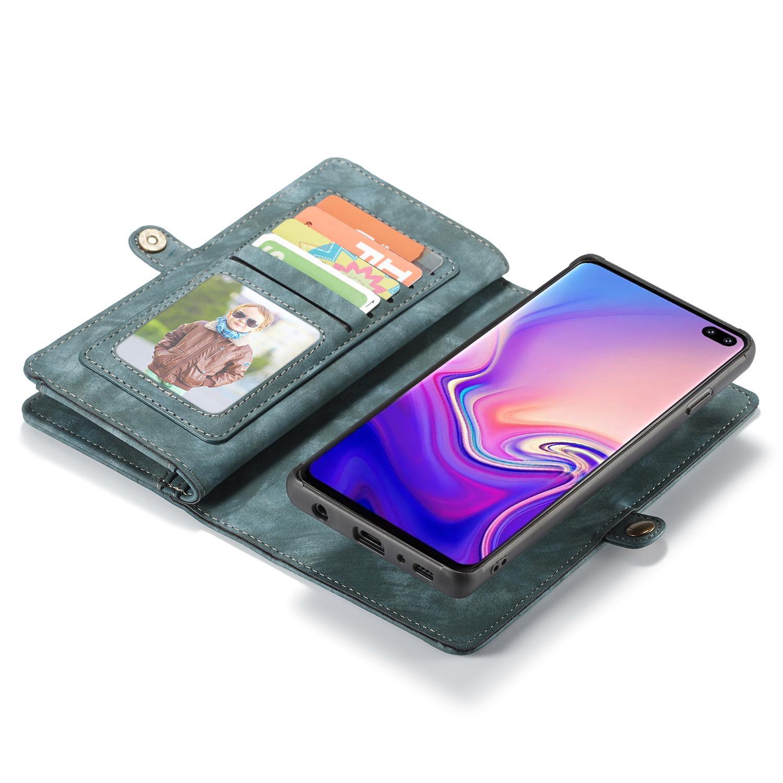 Multi-slot Suojakotelo Samsung Galaxy S10 sininen