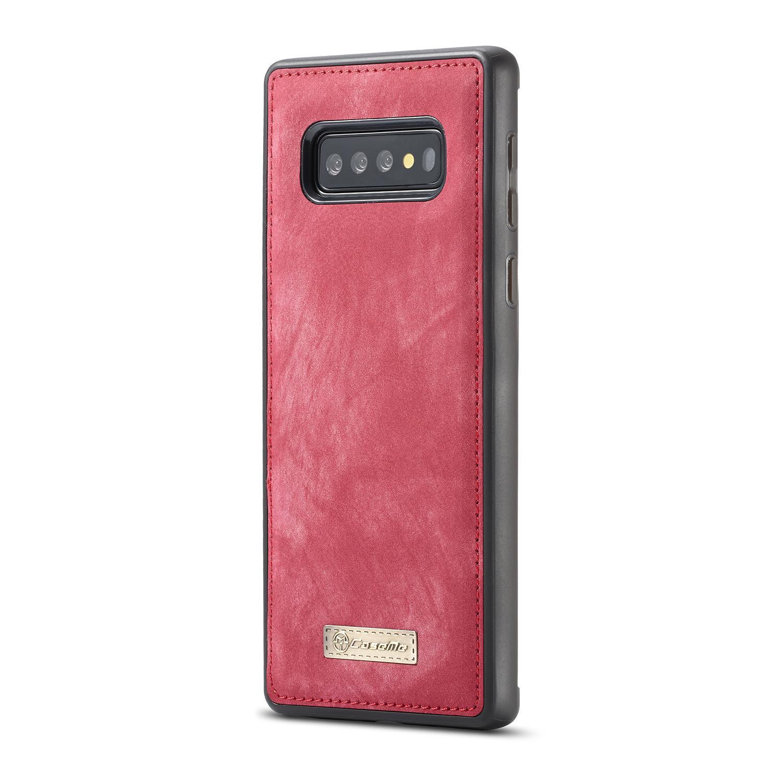 Multi-slot Suojakotelo Samsung Galaxy S10 punainen