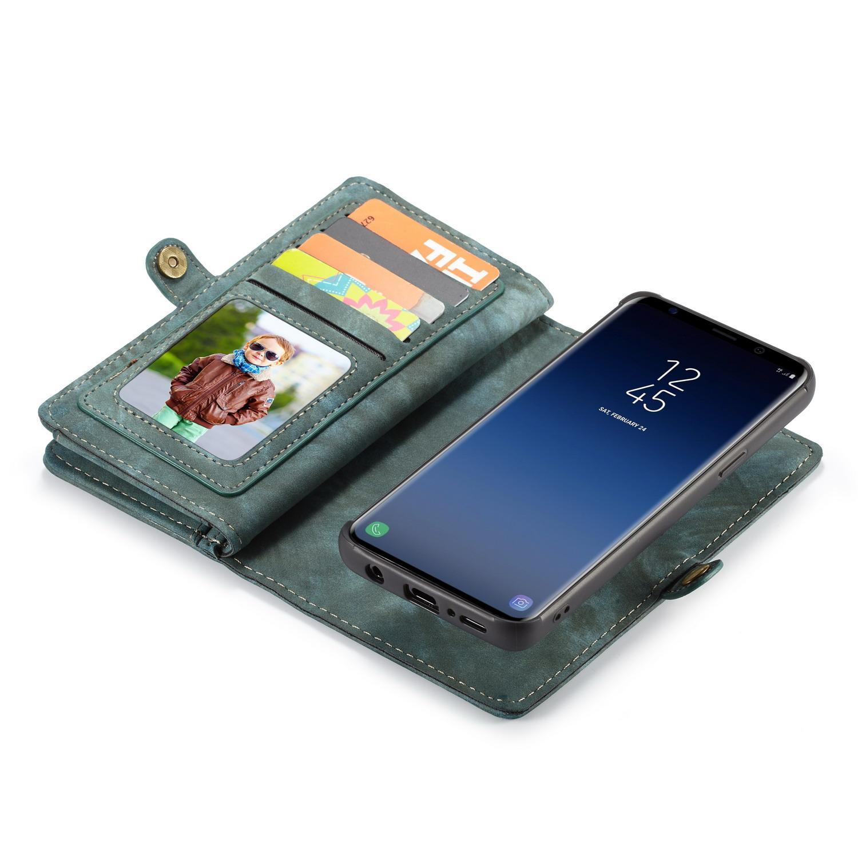 Multi-slot Suojakotelo Samsung Galaxy S9 sininen