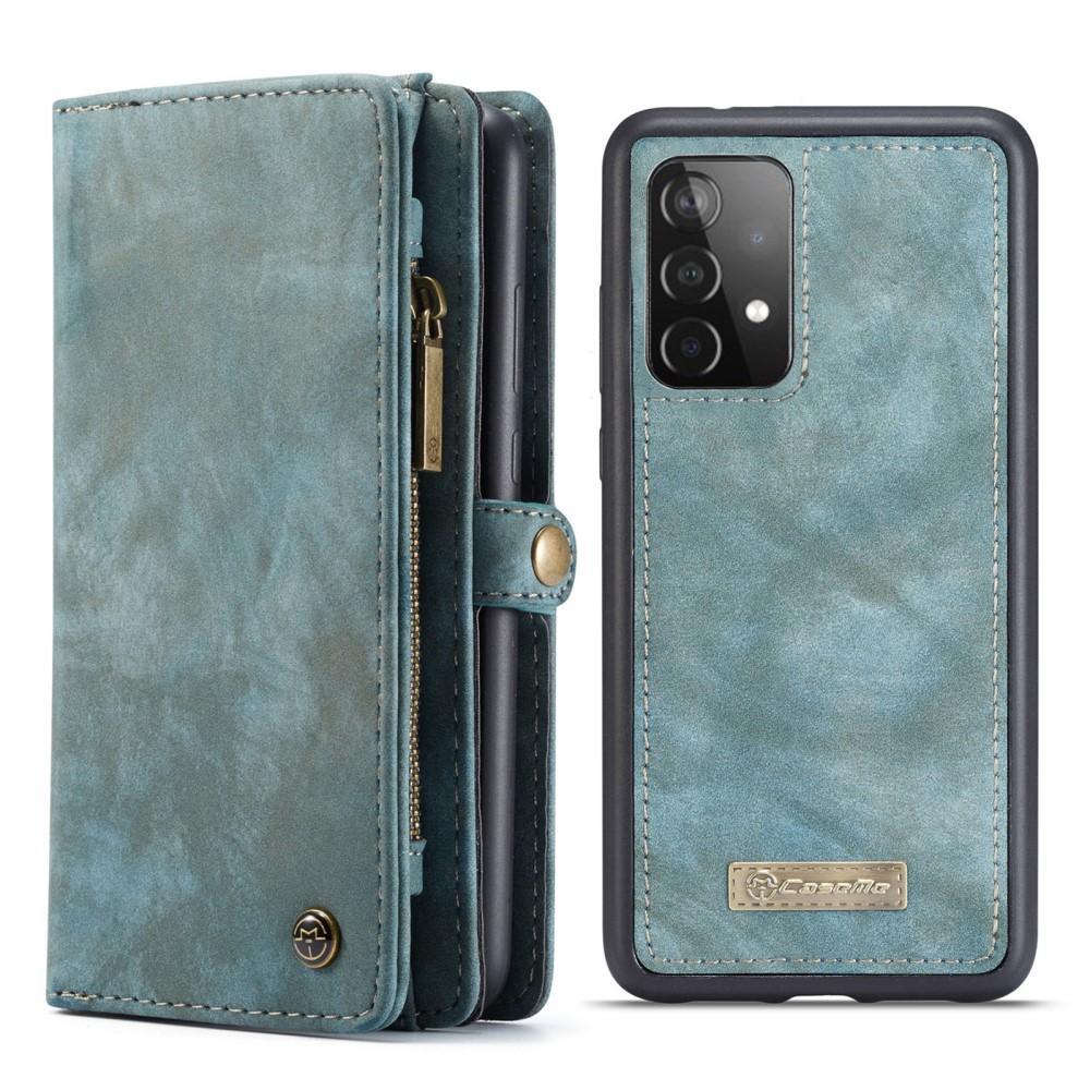 Multi-slot Suojakotelo Galaxy A52 sininen