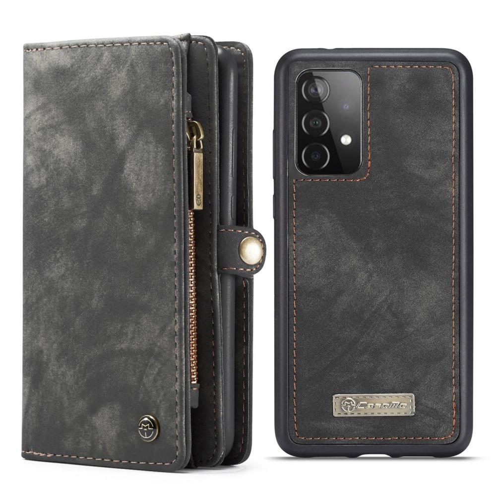 Multi-slot Suojakotelo Galaxy A52 harmaa