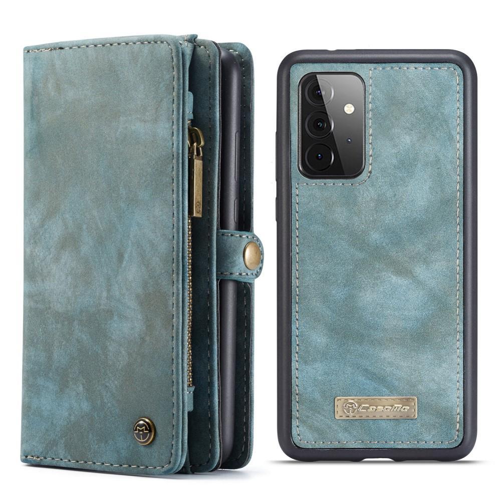 Multi-slot Suojakotelo Galaxy A72 5G sininen