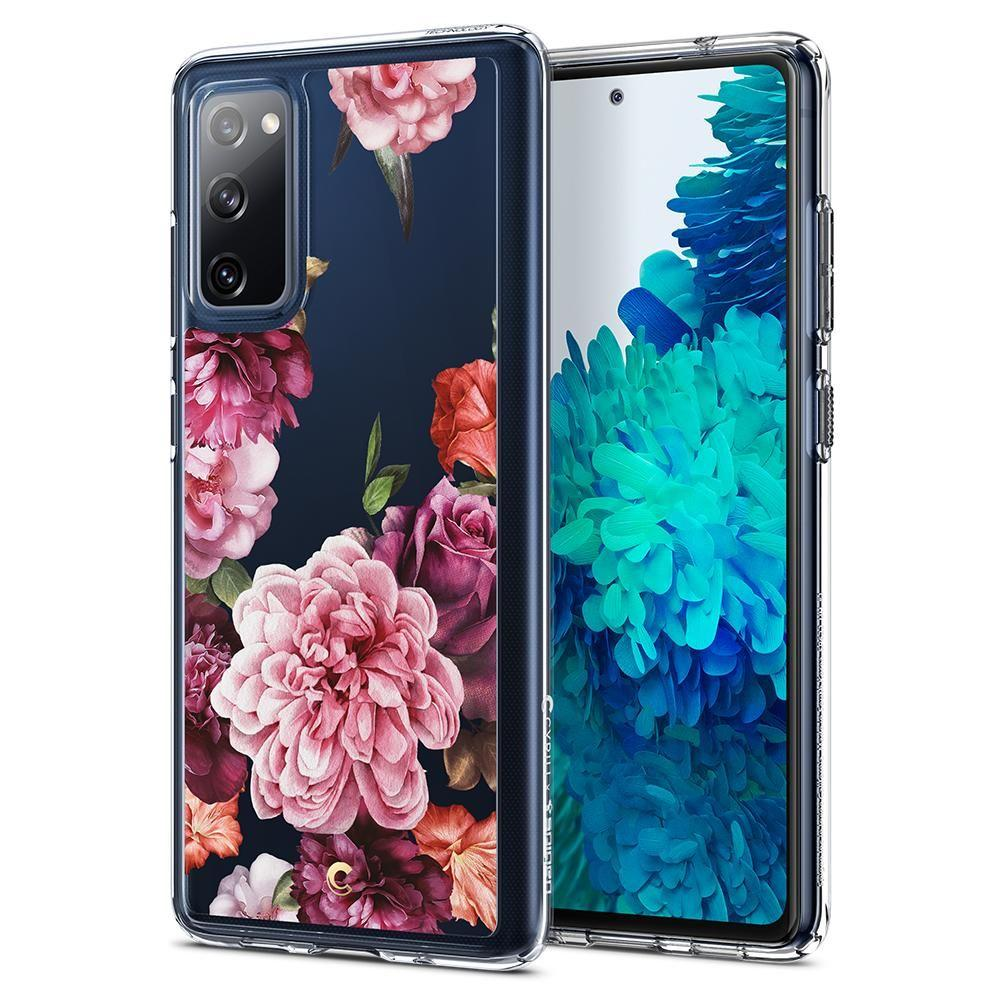 Galaxy S20 FE Case Cecile Rose Floral