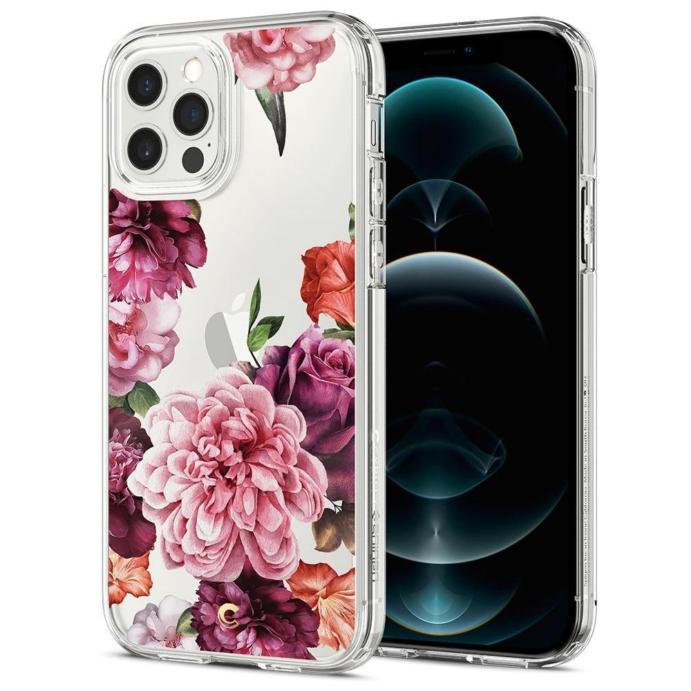 iPhone 12/12 Pro Case Cecile Rose Floral