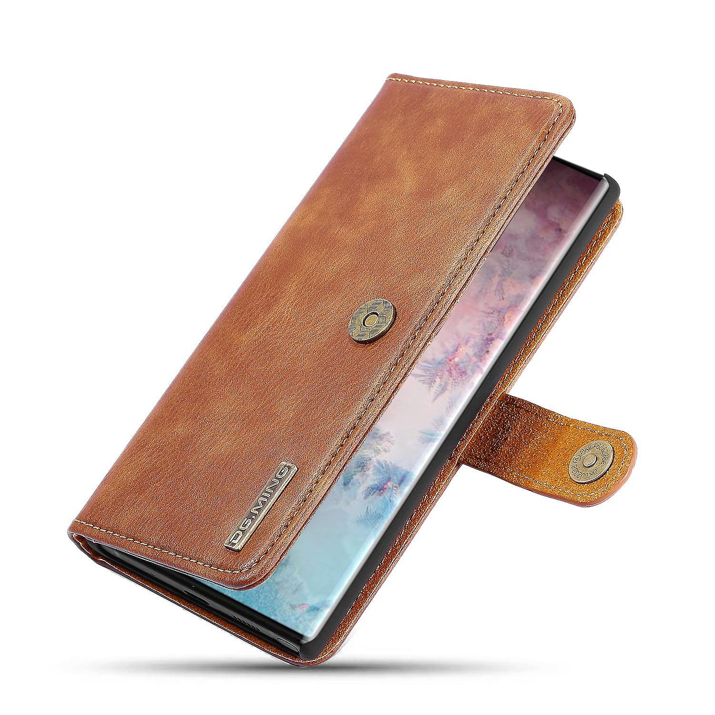 Magnet Wallet Galaxy Note 10 Plus Cognac